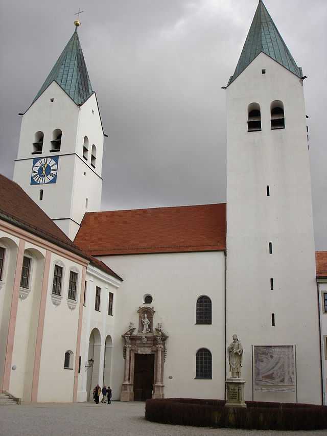 Freising Cathedral, courtesy of Wikimedia Commons, http://commons.wikimedia.org/wiki/File:Freisinger_Dom_aussen_01.jpg.