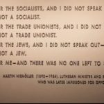 """Multi-Media Note: """"The Danger of Indifference: 'Then They Came for Me,'"""" United States Holocaust Memorial Museum Facebook Live Presentation"""